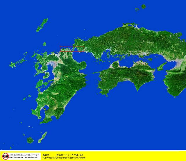 印刷 html pdf 印刷 : 衛星写真・衛星画像・空撮 西日本】