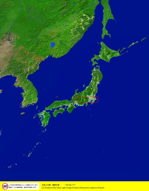 衛星写真・衛星画像・空撮 日本と大陸・朝鮮半島 衛星写真・衛星画像・空撮 日本と大陸・朝鮮半島