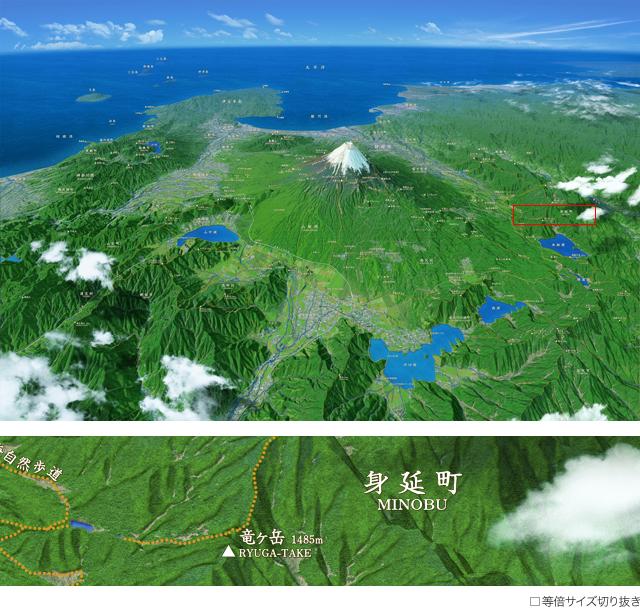 ジオアート 富士山・富士五湖 1-D-HCC149 ジオアート 富士山・富士五湖